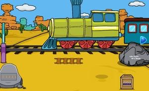 Jouer à Desert train escape