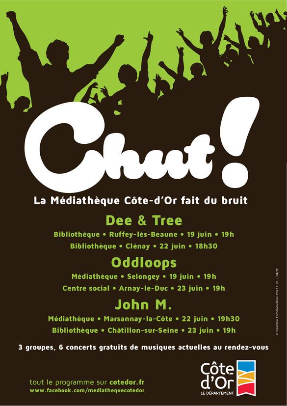 Deux groupes de rock folk seront invités par la Bibliothèque Municipale samedi 23 juin....