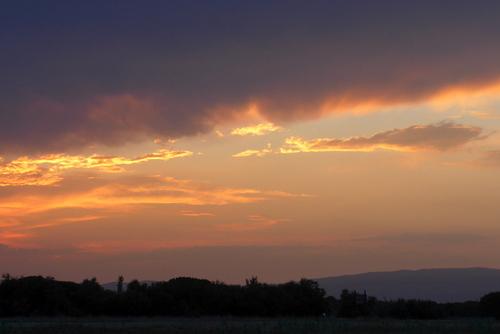 Barcarès : le ciel du soir ... n 4