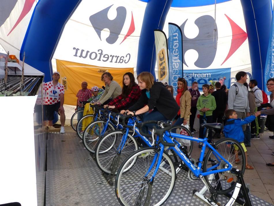 Arrivée du Tour de France à Amiens