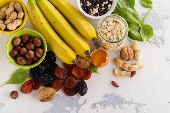 Les aliments qui fournissent le plus de potassium