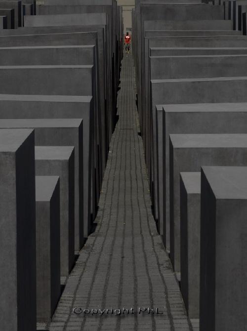 Berlin : monument à la Shoha