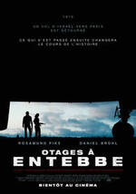 Affiche Otages à Entebbe