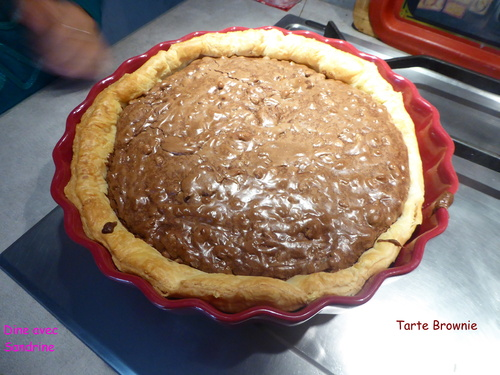 Une Tarte Brownie