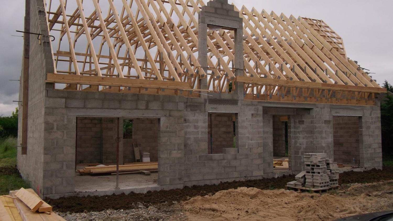 3 eme étape , mise hors d'eau hors d'air - construction maison ... - Constructeur Maison Hors D Eau Hors D Air