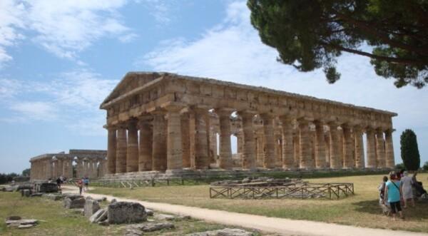 Paestum, les temples d'Héra (I et II)