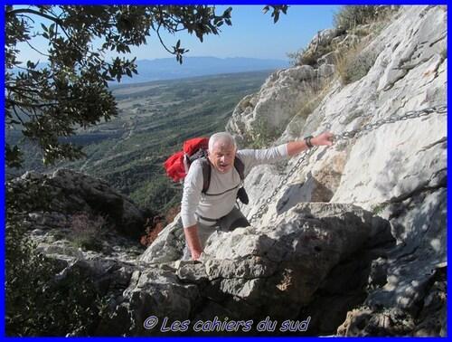 Ste Victoire, le pic des Mouches