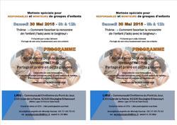 Rencontre Responsables et Moniteurs - 30 Mai 2015