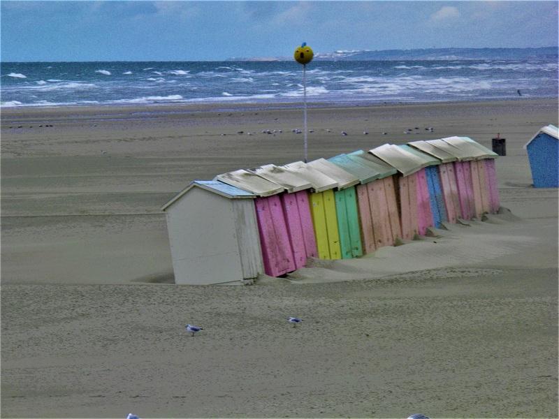 La plage opaline