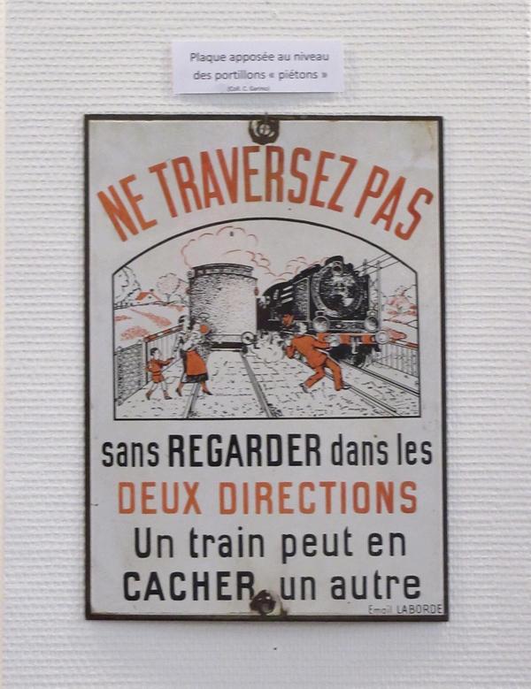 Claude Garino a  présenté , à Bar sur Seine, une superbe exposition sur la ligne de chemin de fer Troyes-Châtillon sur Seine