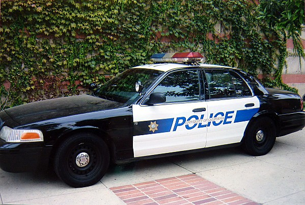Los Angeles voiture police