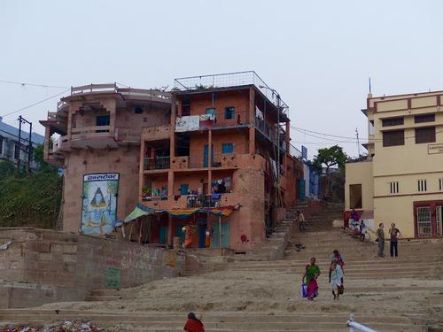 la ville sainte de Varanasi (Benares)
