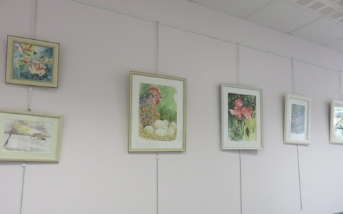 À ONcy-sur-École, exposition de Valérie Keirsschieter