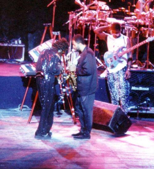 Concert de Miles Davis 1988