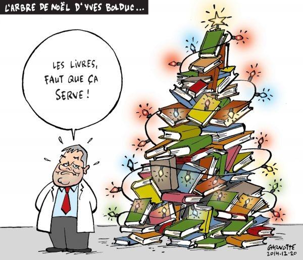 L'arbre de Noël d'Yves Bolduc (Garnotte 20-12-2014)