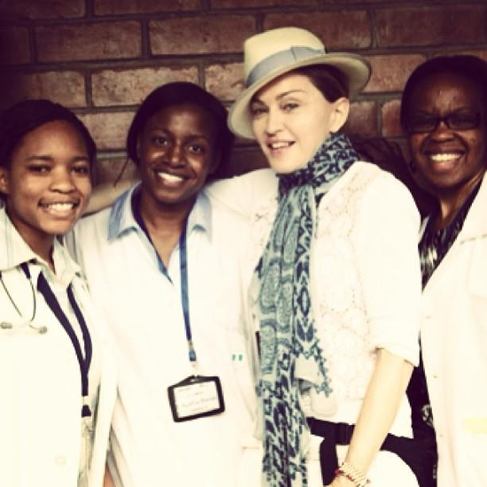 Medical trainees from Malawi College of Medicine. GIRL Power!