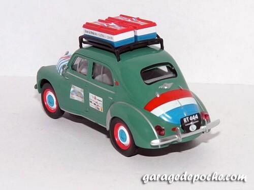 Renault 4cv Tour du monde