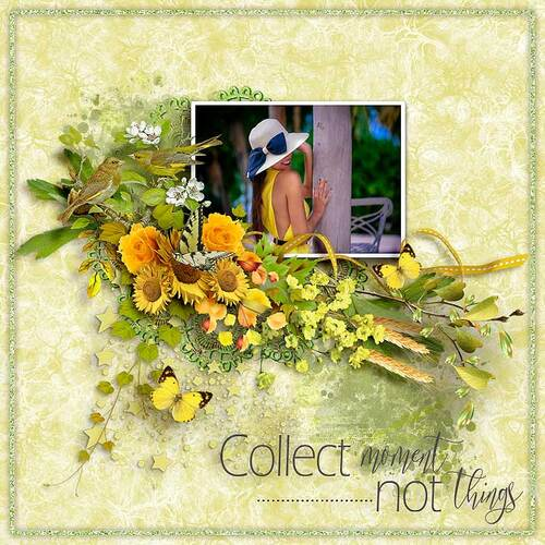 Yellow Rose by dentelle scrap
