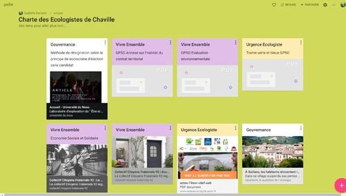 La charte des écologistes de Chaville