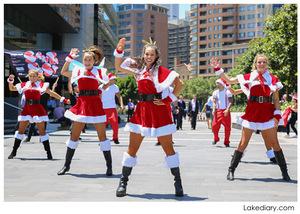 dance ballet santa claus hip hop ballet