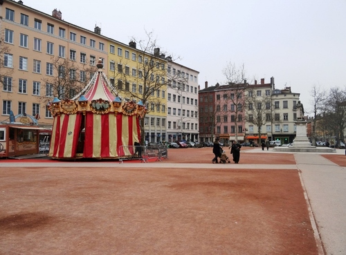 Lyon: promenade à partir de la place Bellecour (photos)