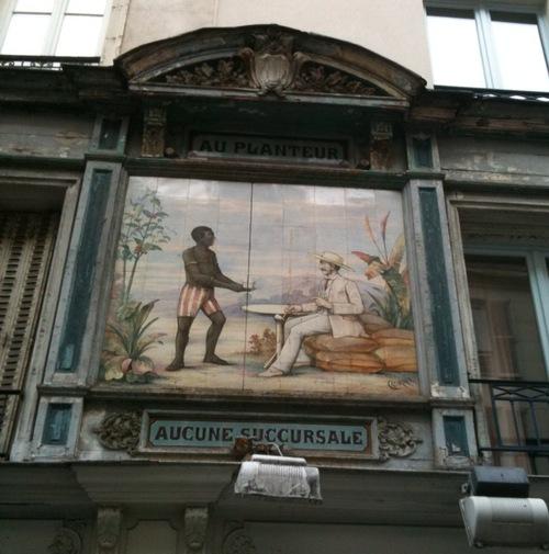 Au Planteur façade rue Montorgueuil.