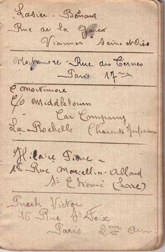 Le carnet de Paul Bonneton (V) Anatole Loubeau, un ami du 36eme RAC
