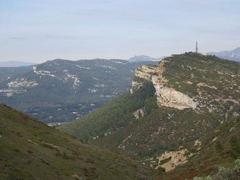 Le Baou de la Saoupe, vu des falaises