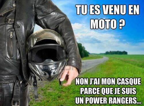 Tu es venu en moto ?