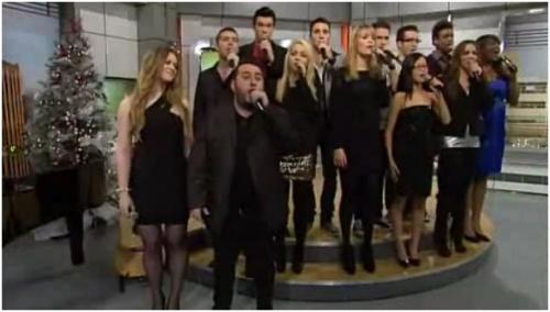 Salut Bonjour Weekend - Les académiciens chantent Noël !