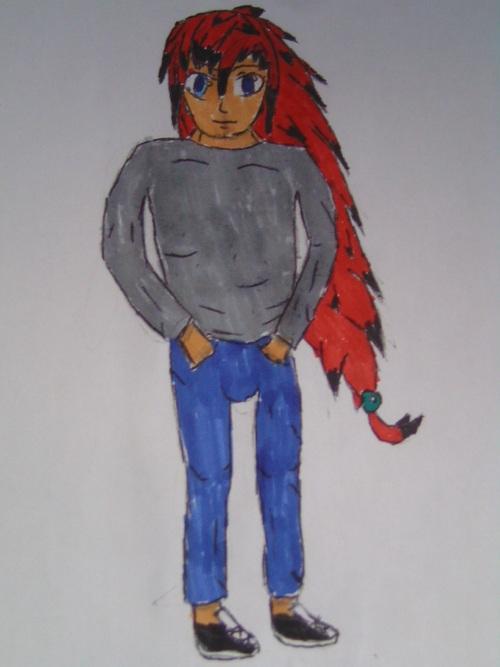 Darkey human form [colored]