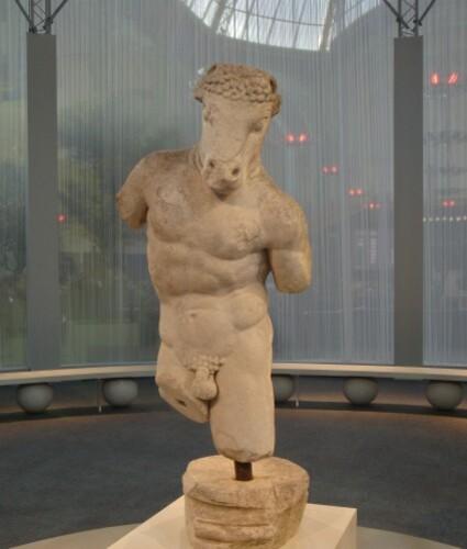 Minotaure antique