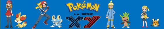Pokémon, la série X et Y - Bannière
