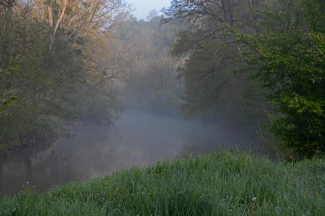 J'ai suivi la rivière