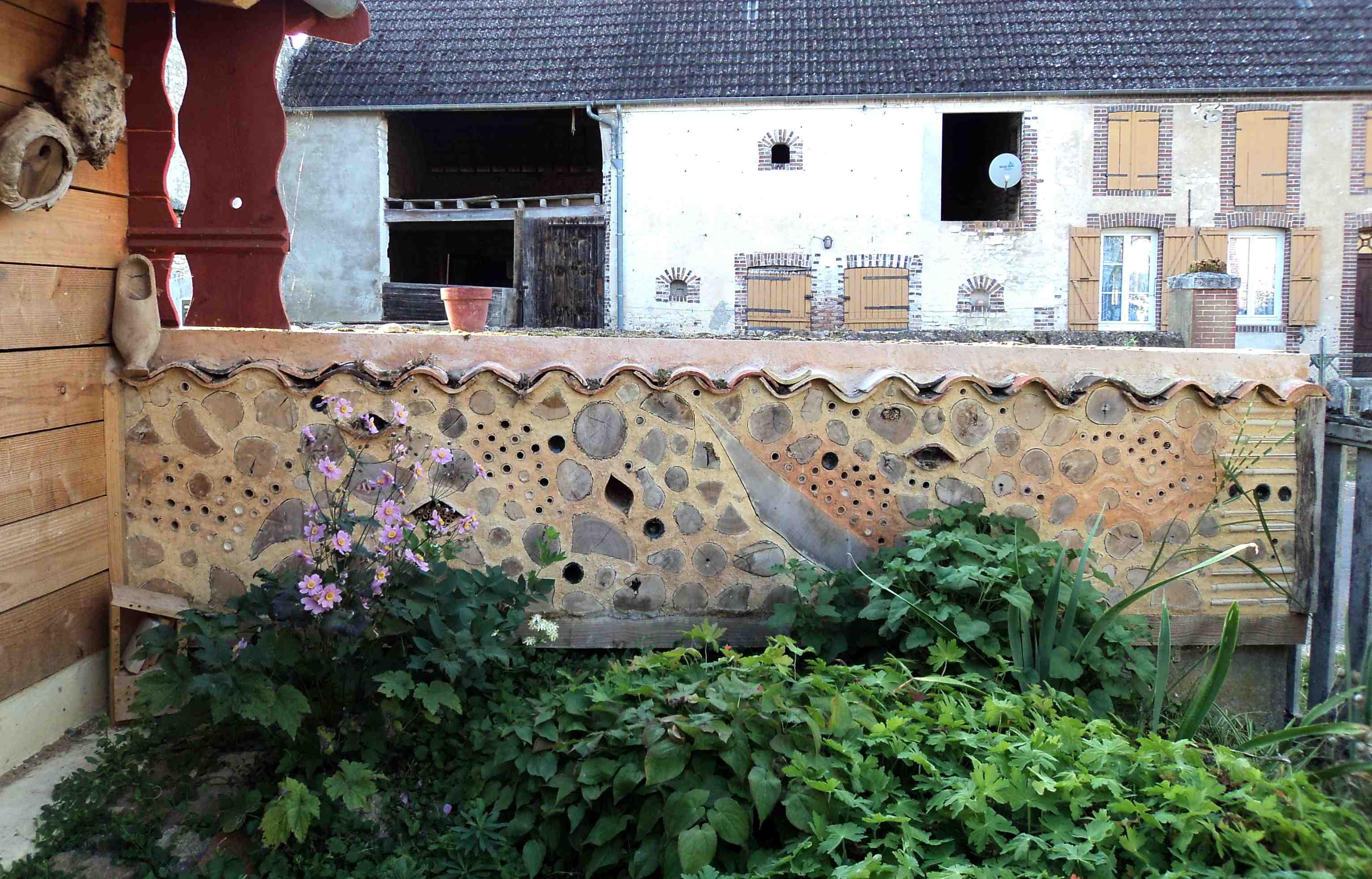 Mur à insectes