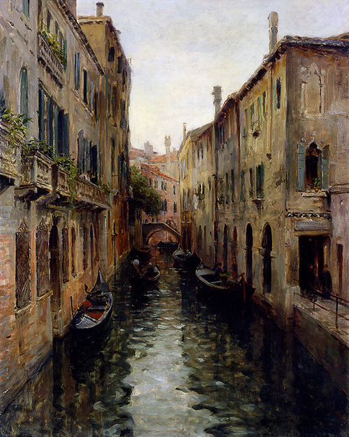 Peinture de : Louis Aston Knight