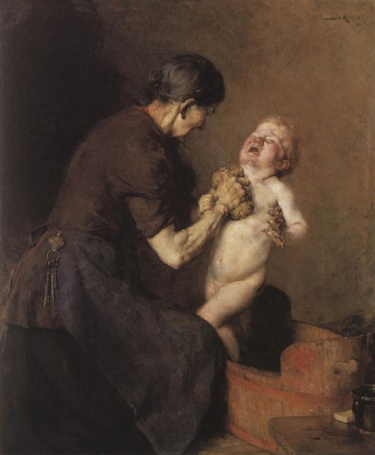 L'enfant grec peint par... Yorgos Iakovidis