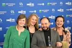Au centre, César Diaz, meilleur premier film