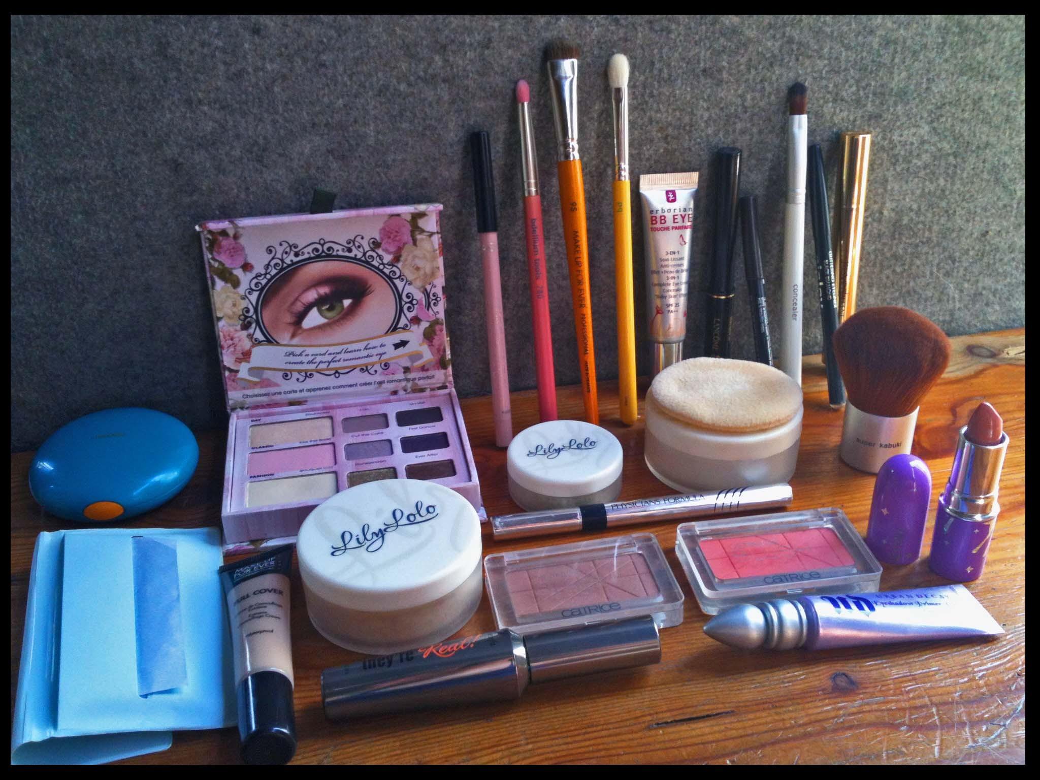 Ma trousse de vacances - Maquillage