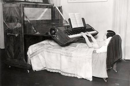 Le piano-lit