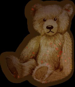 """Spécial déco : Les peluches - Tubes """" ours en peluche"""""""