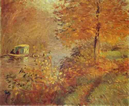 L'automne selon Monet