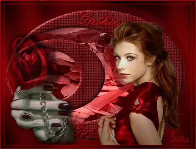 Gothic Girl-Brechtje