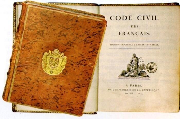 L'élaboration du Code civil des Français en 1804 (J. Bonnard)