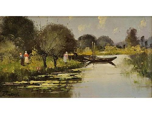 gallien laloue eugène bord de rivière