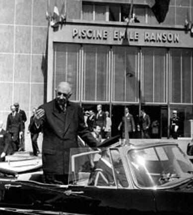 Avril 1966 : Charles et Yvonne De Gaulle sont de retour à Notre-Dame