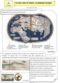 Documentaire CE2: cartes, connaissance du monde