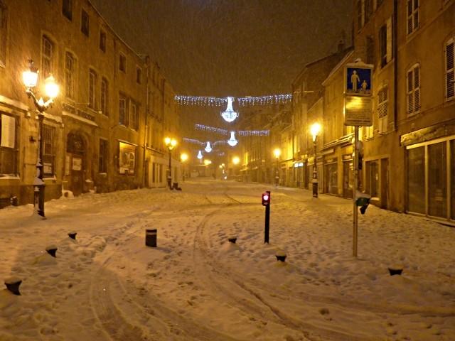 Metz sous la neige 3 décembre mp1357 2010