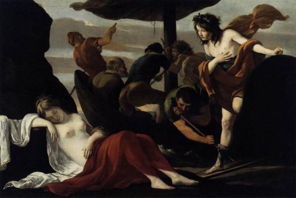 Bacchus et Ariane par les frères Le Nain