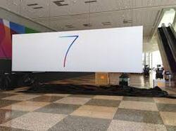 Le vrai logo d'iOS 7